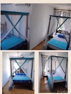 Third bedroom single bed and queen size bed