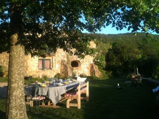 la ferme de Blanc, Saint-Romain-de-Lerps