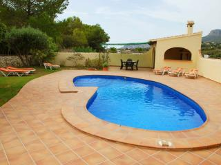 Villa Jasmines, situated in a quiet area of Calpe