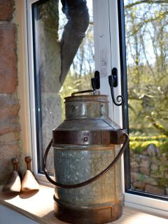 milk churn ornament