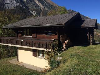 Comfortable Swiss chalet in rural setting, Orsières