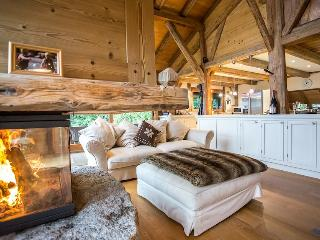 Luxury Chalet Coeur, above Samoens, Grand Massif