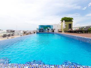 Amplio apartamento con increíble piscina