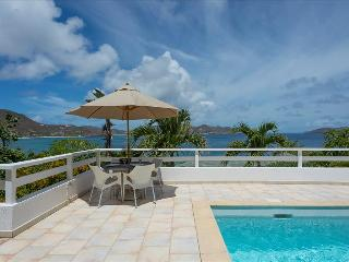 Papillon Blanc at Pointe Milou, St. Barth - Ocean View, Amazing Sunset Views, Close To Beach and Res, Marigot