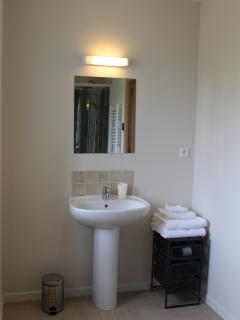 Spacious ensuite shower room for master bedroom