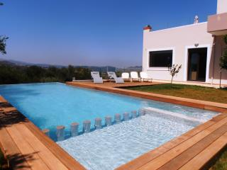 Villa lofos (330sqm),  full view, big private pool, Chania Town