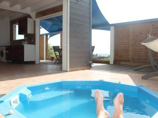 TERRATHELY *****, vue mer, piscine privative, Le Moule