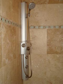 Master Bath Shower Tower