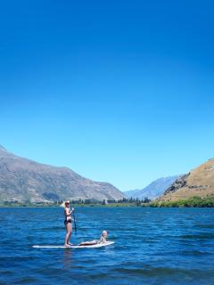 Complimentary use of stand up paddle boards