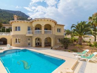 Villa con vista al mar Calpe