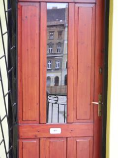 door of the flat