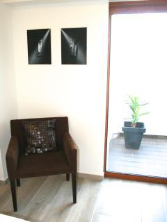 Room 2- balcony window