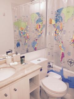dos baños en suite
