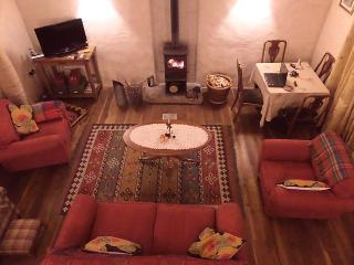Spacious, very comfortable sitting room with woodburner