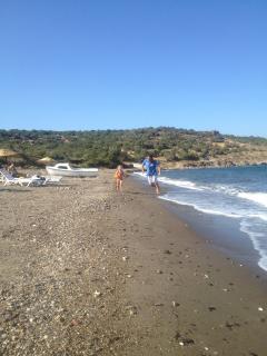 Sude Sand beach bektasalti area 5 km