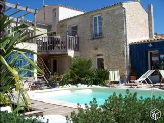 2 bedrooms Terrace, swimming pool with character, Saint-Georges-d'Oleron