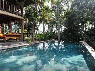 Wooden Villa in Rice Fields, 5min from Ubud Centre