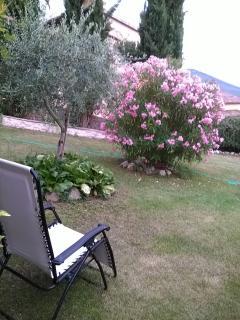Giardino e sdraio - Garden and recliner