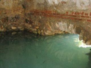 Roman baths of the smelly. Roman Bath of stinking.