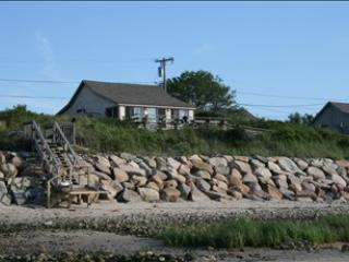 Back of house from beach