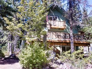 Cozy, dog-friendly mountain chalet with private hot tub!