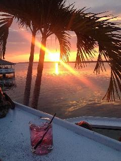 Enjoy a sunset cocktail next door at Fager's Island.....Cheers!