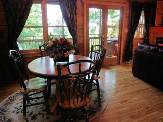 Treehouse for Two is located in Sky Harbor Resort, Pigeon Forge