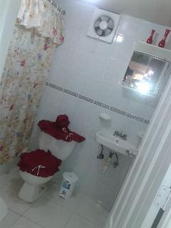 baño de las habitaciones dobles amplio