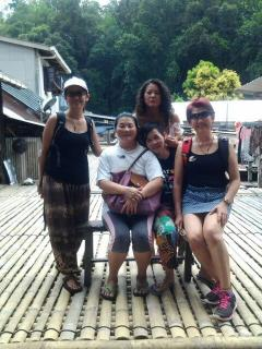 Visiting Annah Rais Long House at Padawan.