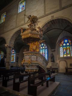 Chaire de l'église de St THEGONNEC
