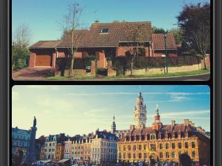 Maison spacieuse dans la Campagne de Lille (10 mn), Capinghem