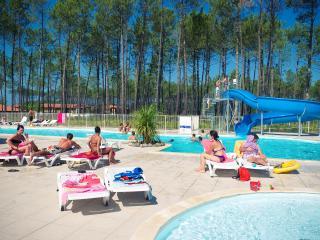 Vacances en famille au Domaine des Grands Lacs, Parentis-en-Born