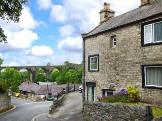 BELL HORSE COTTAGE, semi-detached cottage, over three floors, woodburning stove,