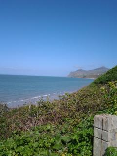 stunning views from costal path 10 min walk