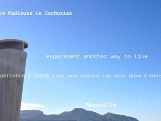 La Cité Radieuse Le Corbusier, Marseille