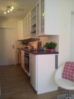 Küchenzeile im Landhausstil