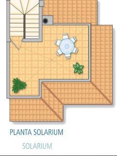 Floor plan solarium (mirrored!)
