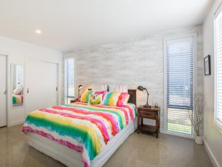 Orange Apartment Bedroom