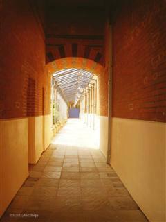 Victorian undercover walkway