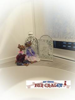 Handmade toys made by the hostess