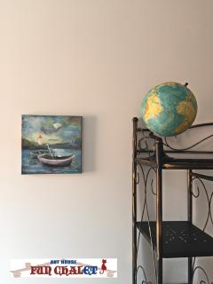Our house is full of art, sun and  warm hospitality