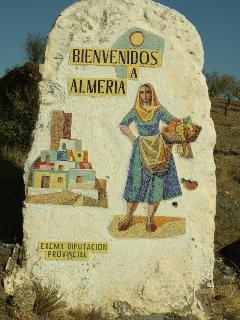 BIENVENIDOS A ALMERIA