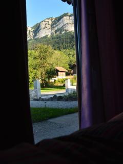vue de la chambre violette