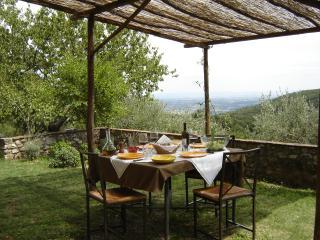 Terrazza, si affaccia sulle colline e offre una grandiosa vista su tutta la valle sino a Siena