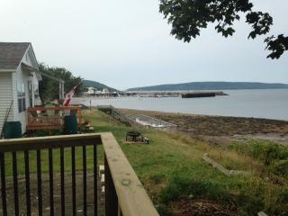 ocean view cottage home in town of Digby