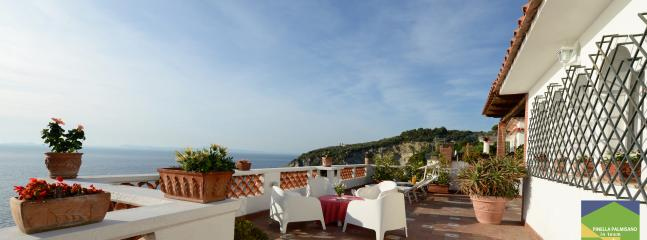 Villa Dafne Sorrento apt Rose - terrace