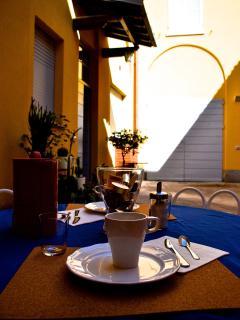La Corte di Zizi,la corte, breakfast outdoor