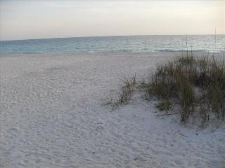 Miles of Sandy Beach on Quaint Island, Holmes Beach