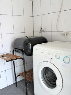 Laundry and barbecue