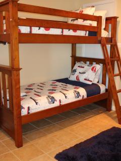 Bunk Bed Room sleeps 4